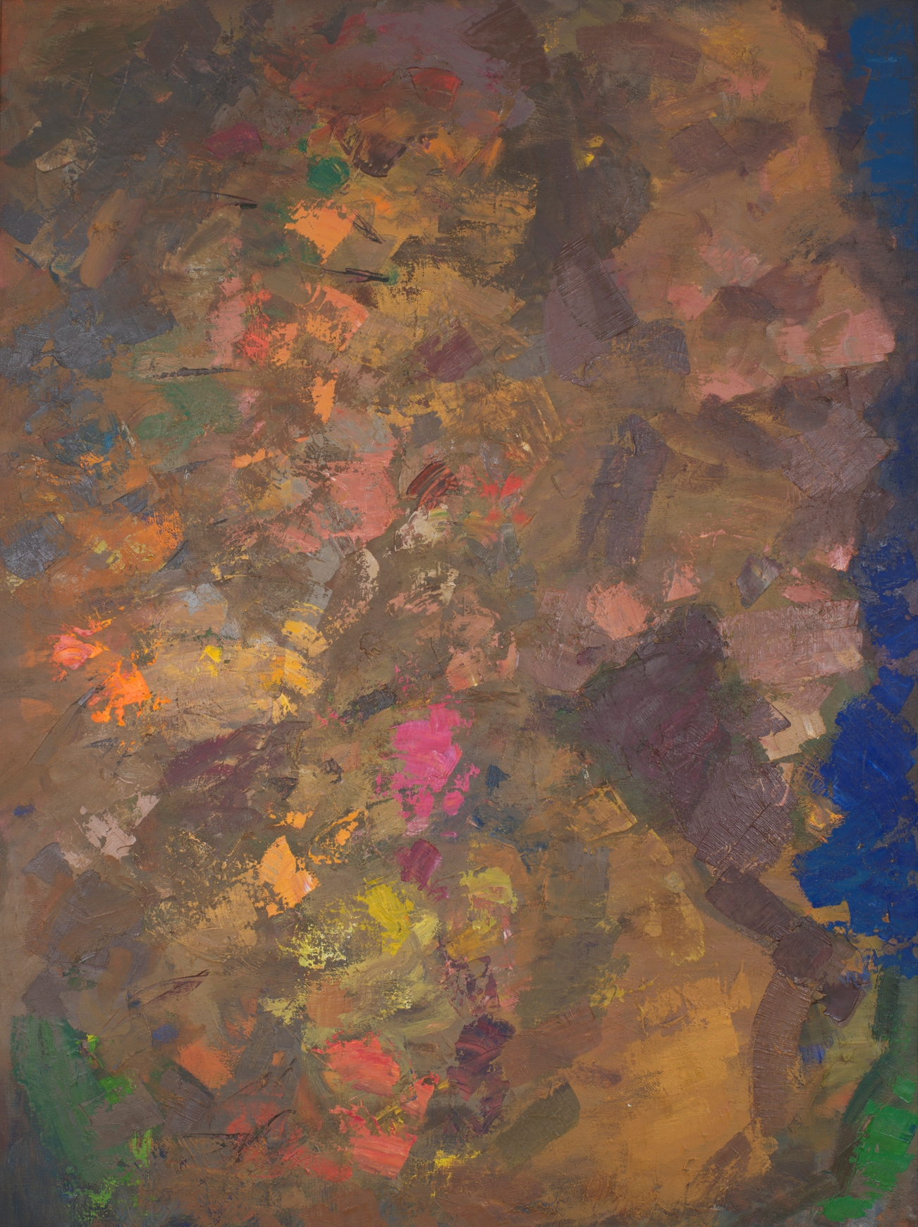 Гранатовый сад на караванной дороге. 1992. Холст, масло. 100х120. Из собрания Фонда Марджани.jpg