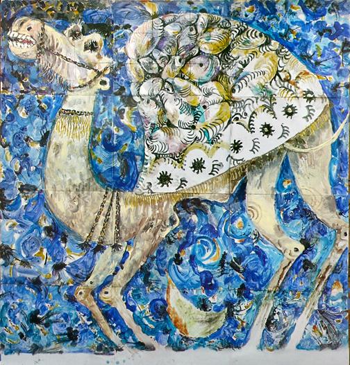 Расим Бабаев. Верблюд. 1990-е годы. Коллекция семьи художника.jpg