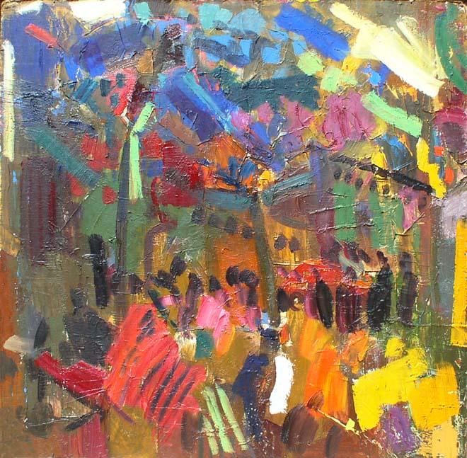Чайхана в Маргилане. 1988. Холст, масло. 81х89. Из собрания музея Новый Иерусалим.jpg