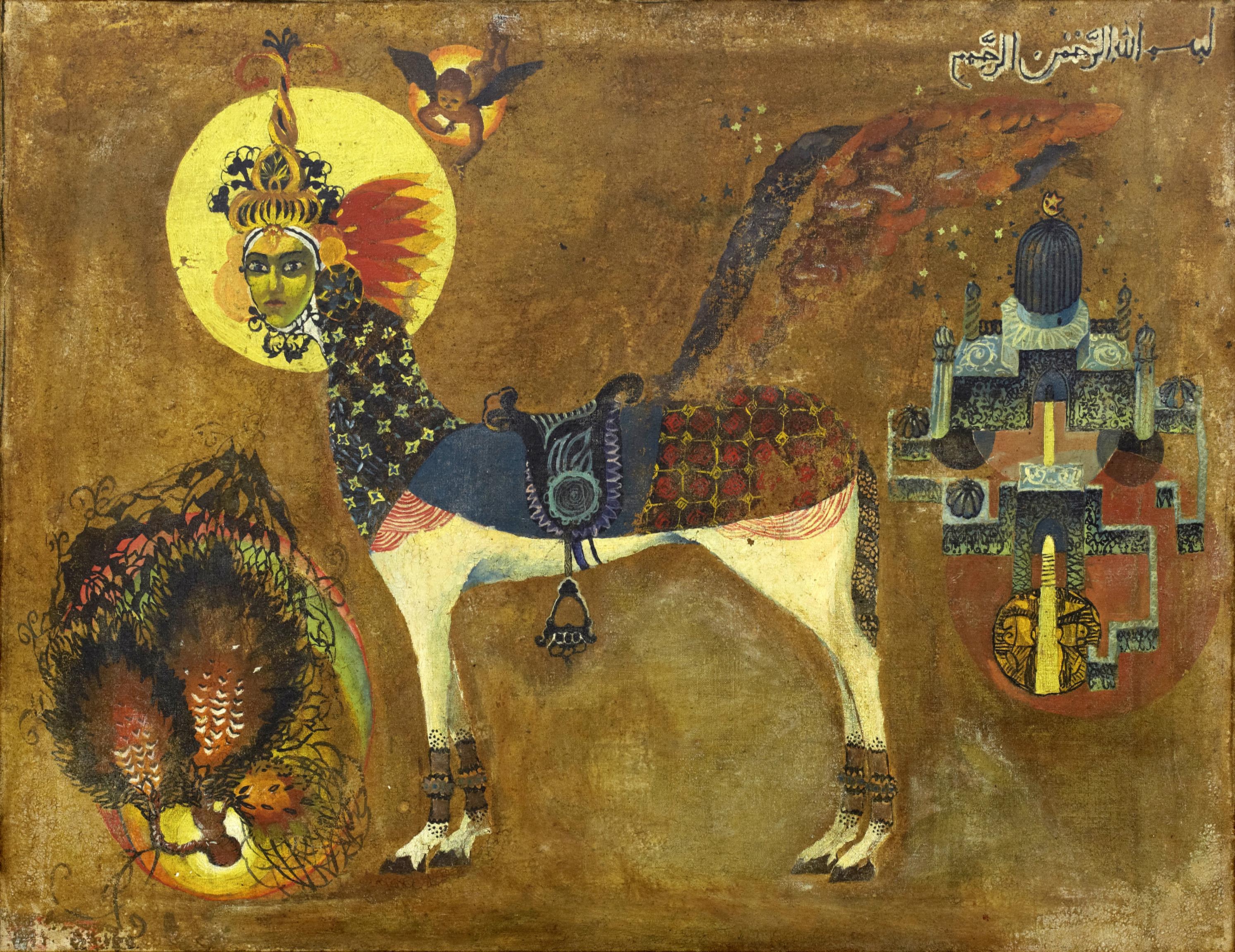 1.«Аль Буракъ». 1968. Холст, масло. 75х93 см.jpg