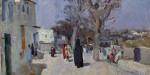 Сергей Герасимов Самарканд. Старый город 1942 г. Картон, масло 22х33 см Коллекция Фонда Марджани